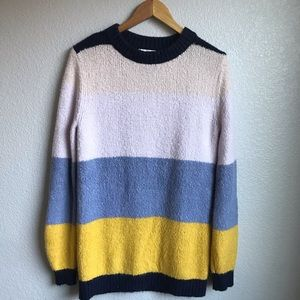 Treasure and Bond Colorblock Sweater